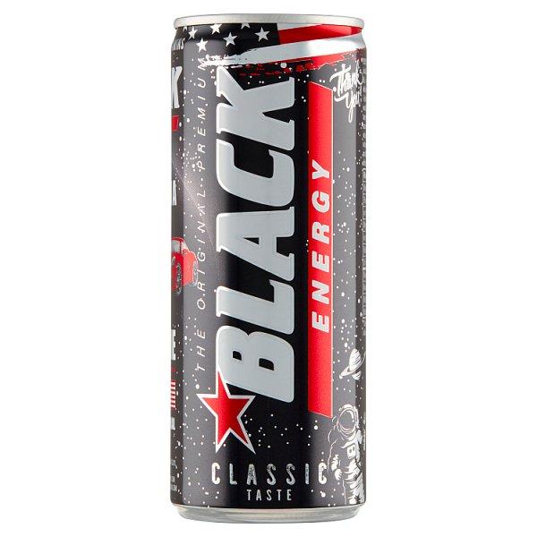 Black Energy Gazowany napój energetyzujący 250 ml
