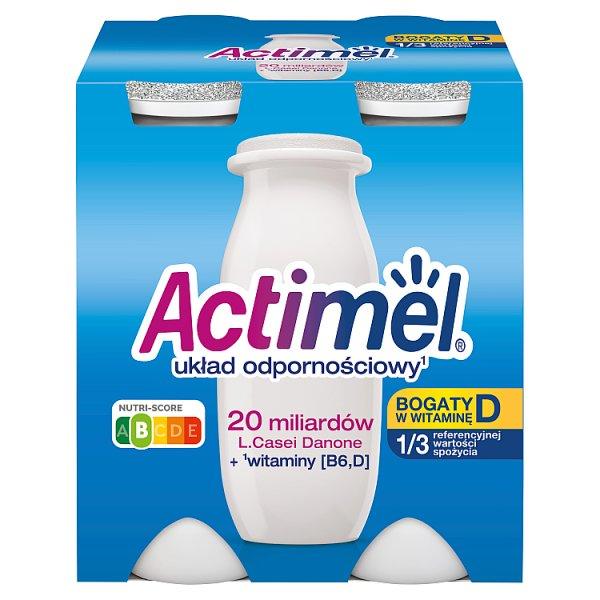 Actimel Mleko fermentowane o smaku klasycznym 400 g (4 x 100 g)