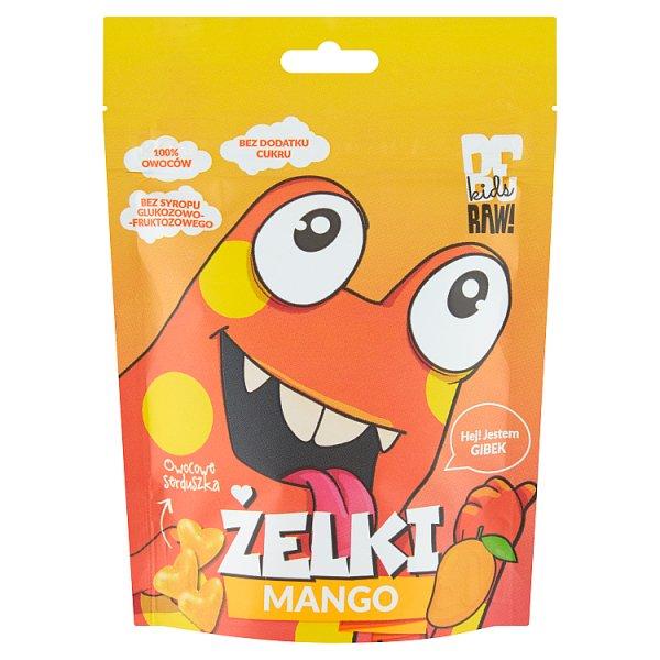 Be Raw! Kids Żelki mango 35 g