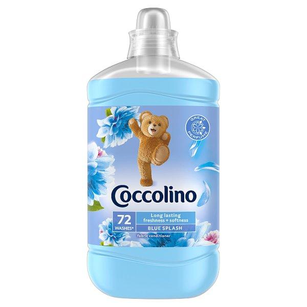 Coccolino Blue Splash Płyn do płukania tkanin koncentrat 1800 ml (72 prania)