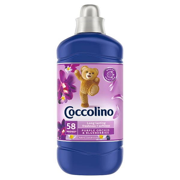 Coccolino Purple Orchid & Blueberries Płyn do płukania koncentrat 1450 ml (58 prań)