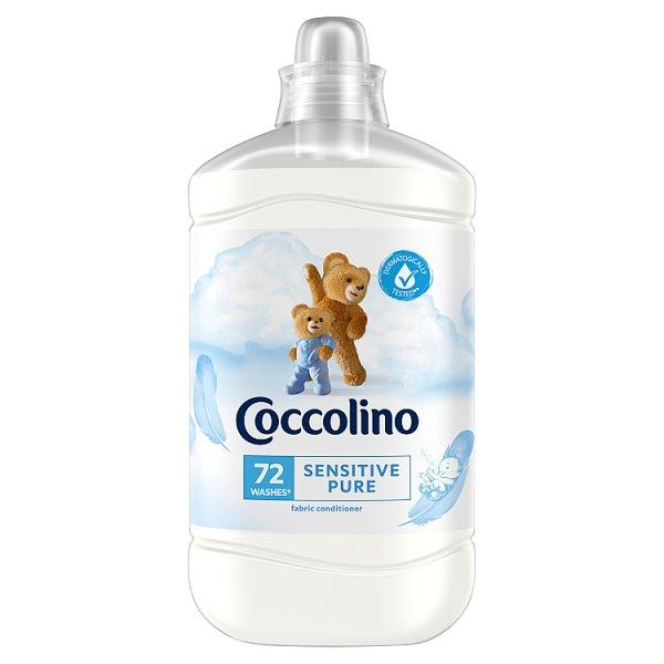 Coccolino Sensitive Pure Płyn do płukania tkanin koncentrat 1800 ml (72 prania)