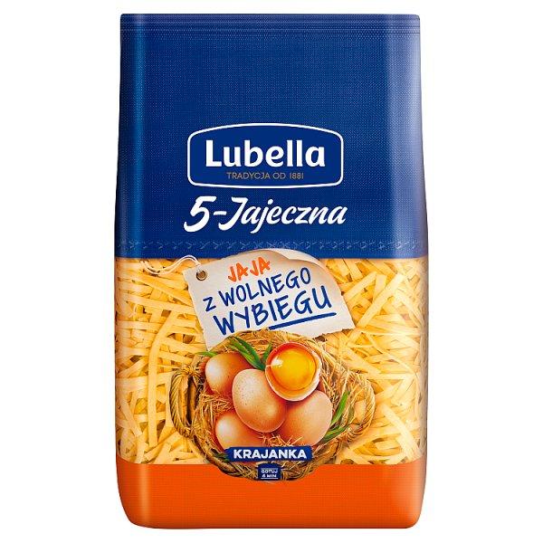 Lubella 5-Jajeczna Makaron krajanka 400 g