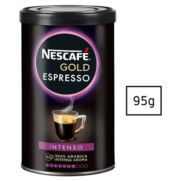 Nescafé Gold Espresso Intenso Kawa rozpuszczalna 95 g