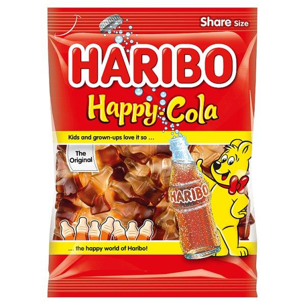 Haribo Happy Cola Żelki o smaku coli 200 g
