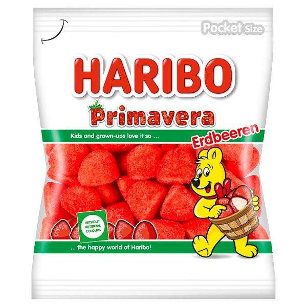 Haribo Primavera Pianki cukrowe o smaku owocowym 100 g