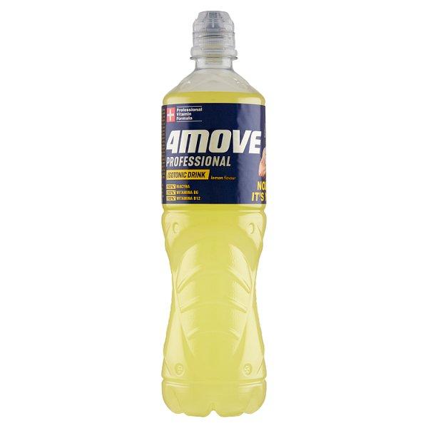 4Move Napój izotoniczny niegazowany o smaku cytrynowym 0,75 l