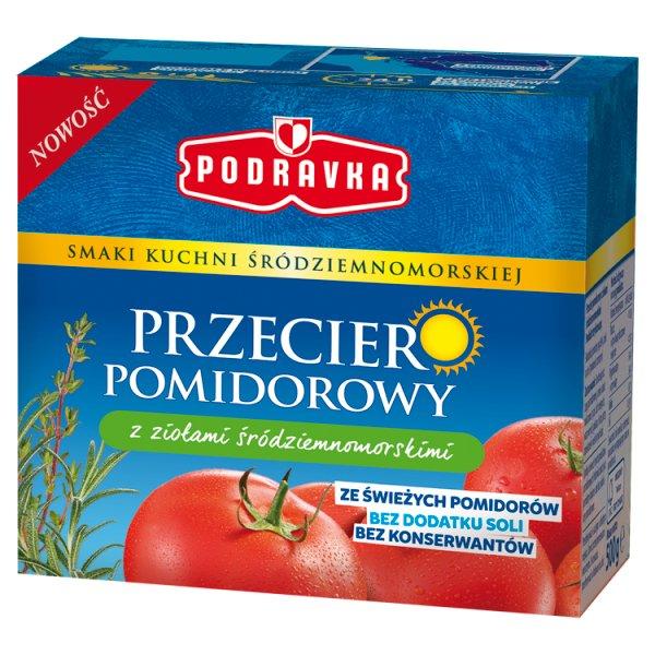 Podravka Przecier pomidorowy z ziołami śródziemnomorskimi 500 g