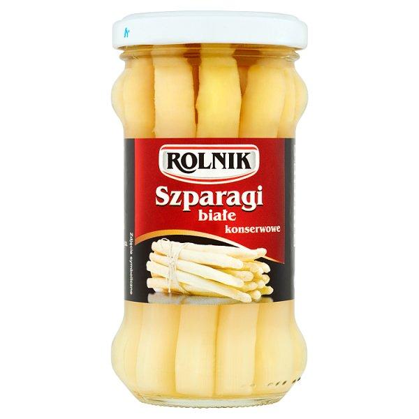 Rolnik Szparagi białe konserwowe 180 g