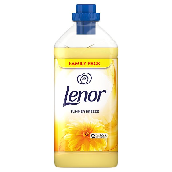 Lenor Summer Breeze Płyn do płukania tkanin 1.8L, 60 prań,