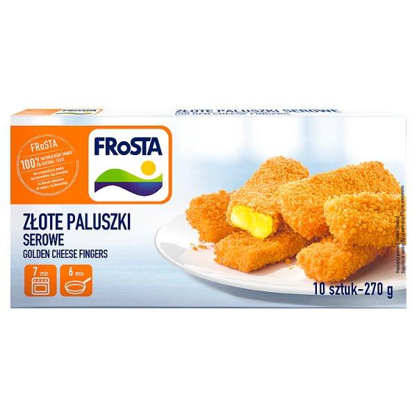 FRoSTA Złote paluszki serowe 270 g (10 sztuk)