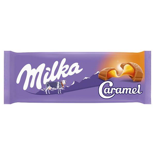 Milka Czekolada mleczna karmelowa 100 g