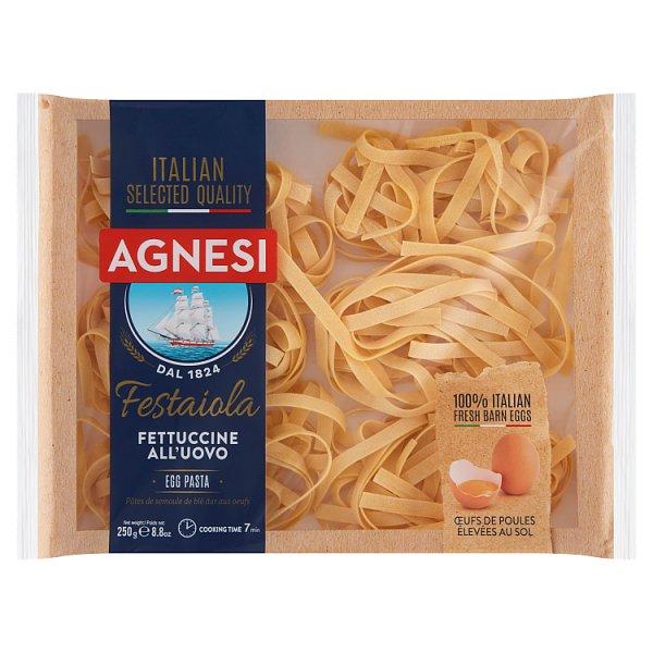 Agnesi Fettucine Makaron jajeczny 250 g