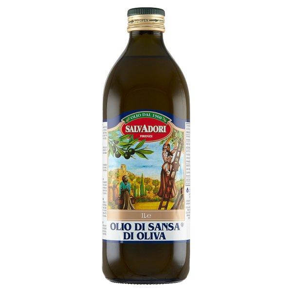 Salvadori Oliwa Sansa z wytłoczyn z oliwek 1 l