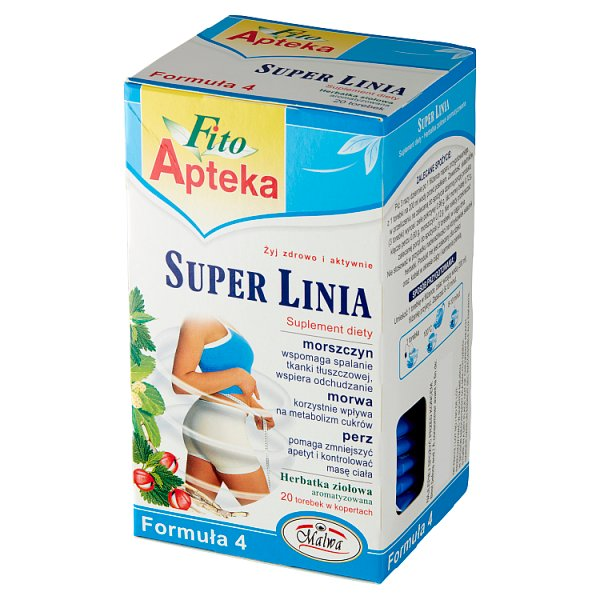 Fito Apteka Suplement diety herbatka ziołowa super linia 40 g (20 x 2 g)