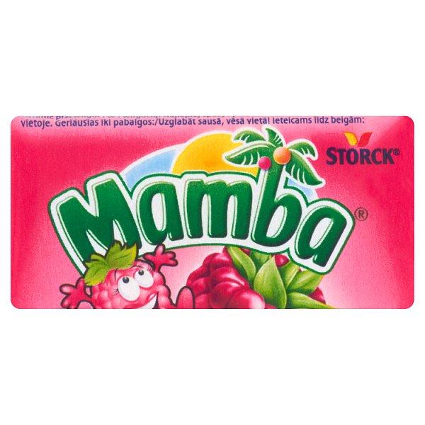 Mamba Gumy rozpuszczalne o smaku malinowym 26,5 g (6 sztuk)