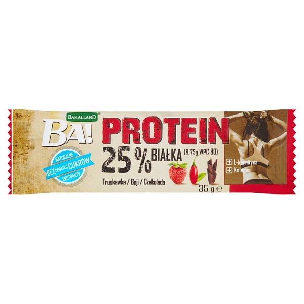 Bakalland Ba! Protein Baton truskawka goji czekolada 35 g