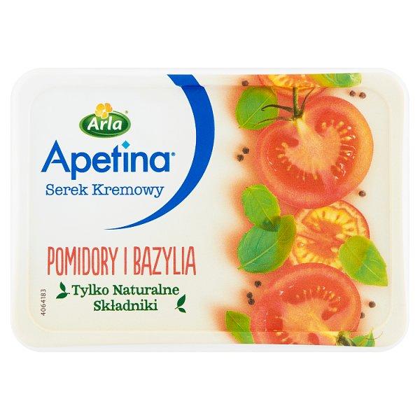Arla Apetina Serek kremowy pomidory i bazylia 125 g