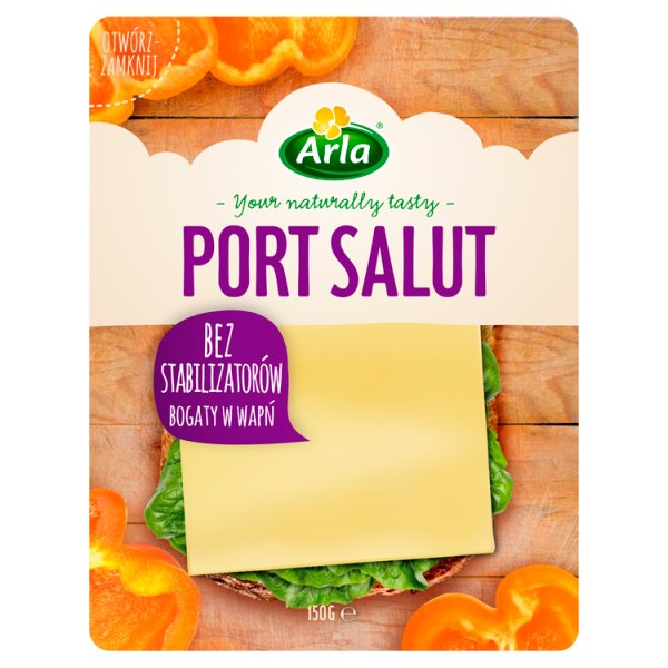 Arla Port Salut Ser w plastrach 150 g