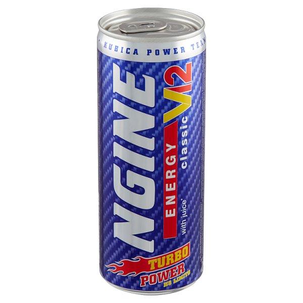 Ngine Classic Gazowany napój energetyzujący 250 ml