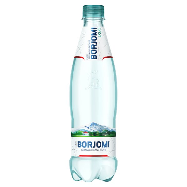 Borjomi Naturalna woda mineralna 0,5 l