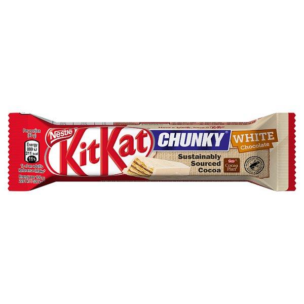 KitKat Chunky Paluszek waflowy w białej czekoladzie 40 g
