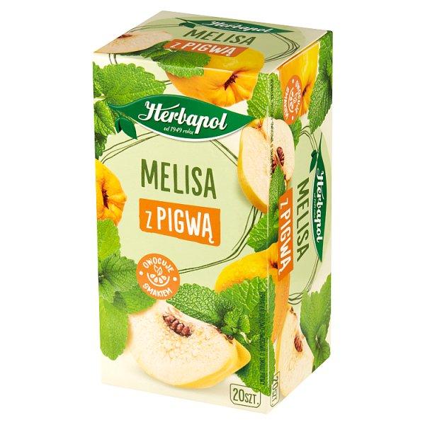 Herbapol Herbatka ziołowo-owocowa melisa z pigwą 35 g (20 x 1,75 g)