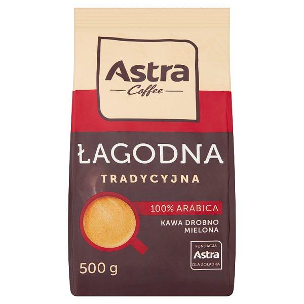 Astra Łagodna Tradycyjna kawa drobno mielona 500 g