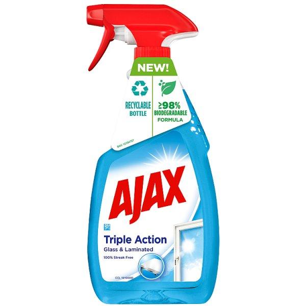 Ajax TRIPLE ACTION Płyn do szyb w sprayu 500 ml
