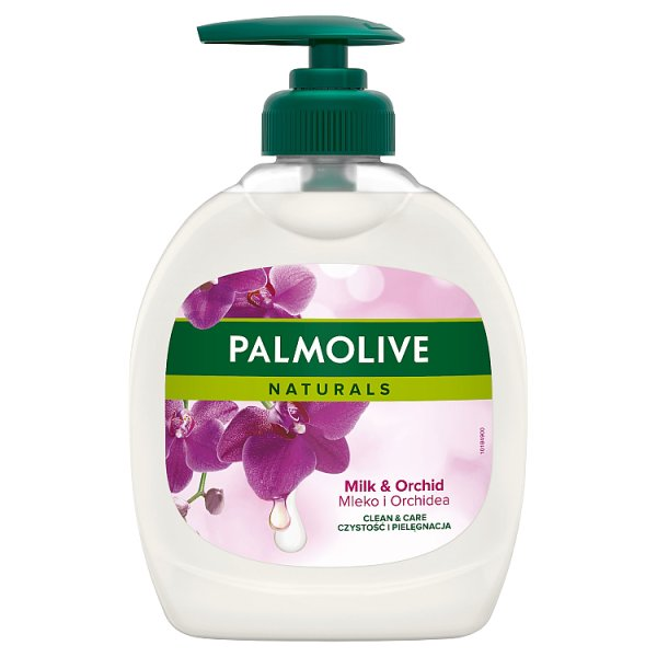 Palmolive Naturals Milk & Orchid (Mleko i Orchidea) Kremowe mydło w płynie z dozownikiem 300 ml