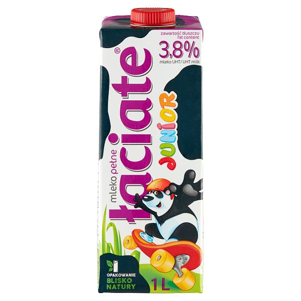 Łaciate Junior Mleko UHT 3,8 % 1 l