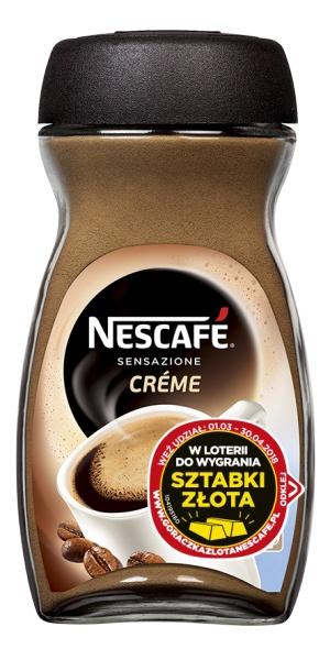 Nescafé Crema Kawa rozpuszczalna 200 g
