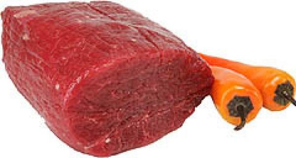 Wołowina bez kości ligawa