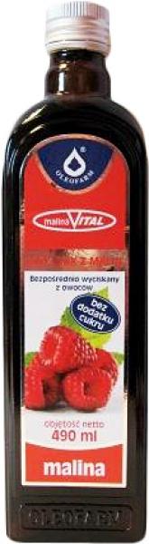 Sok z Malin 100% Oleofarm
