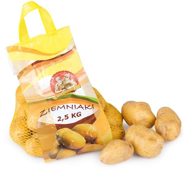 Ziemniak myty 2,5 kg - Polska
