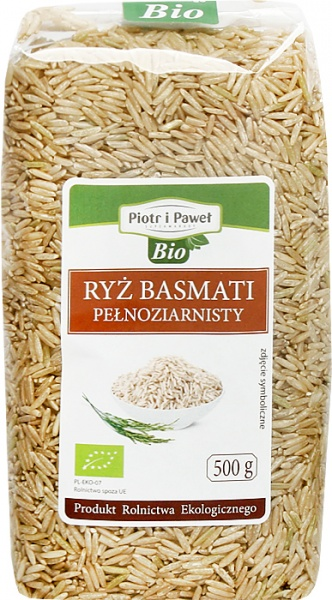 Ryż basmati pełnoziarnisty bio