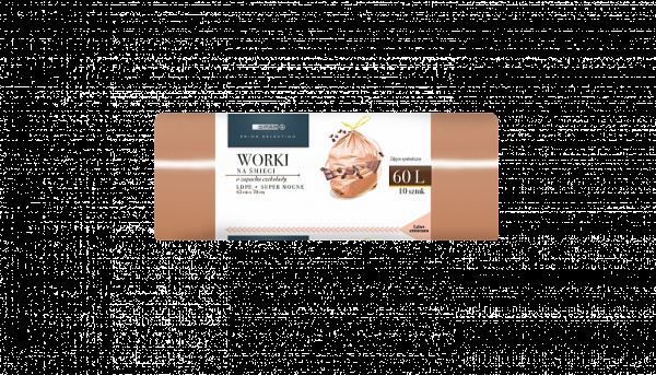 Spar worki na śmieci o zapachu czekolady super mocne 60l 10szt