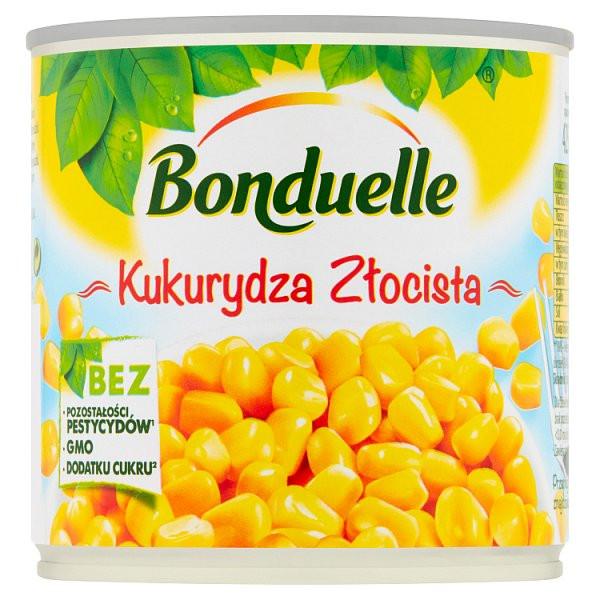 Kukurydza bonduelle złocista 340g