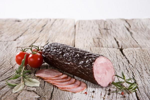 Hańderek-kiełbasa żywiecka pieczona