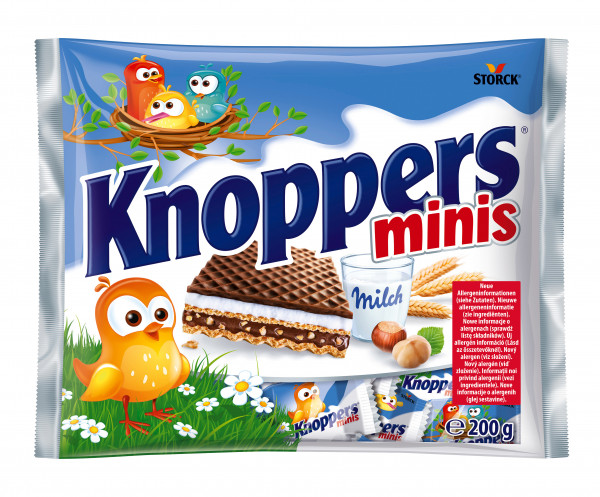 Baton knoppers minis