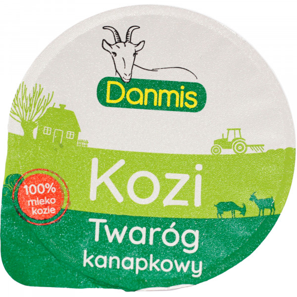 Twaróg kozi kanapkowy Danmis
