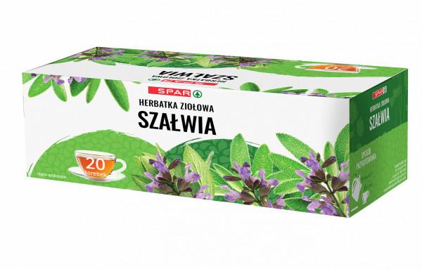 Spar herbatka ziołowa szałwia 20x1,5g