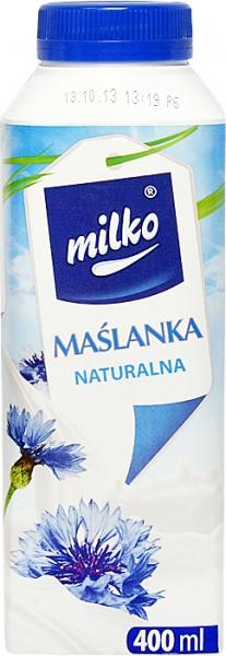 Maślanka Milko naturalna