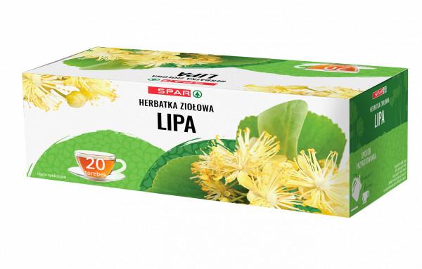 Spar herbatka ziołowa lipa 20x1,5g