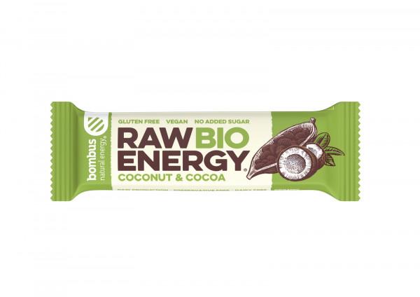 Baton raw energy bio kakao - kokos