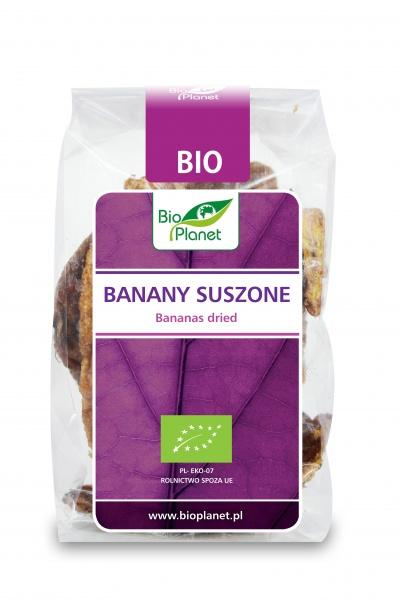 Banany szuszone bio