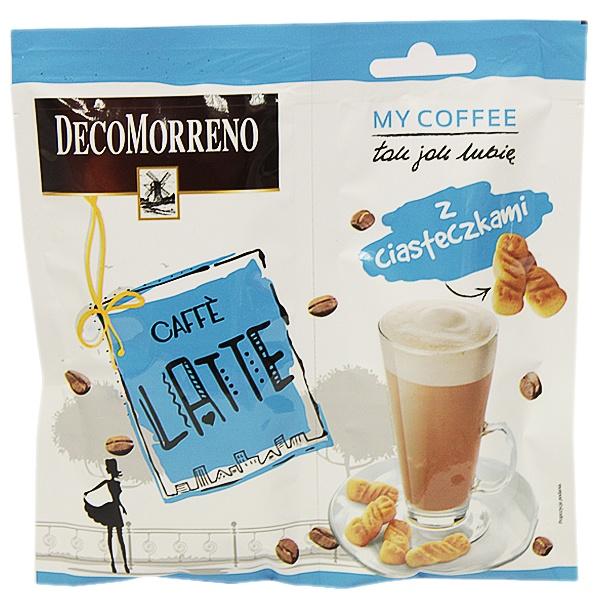 Decomorreno my coffee latte z ciasteczkami