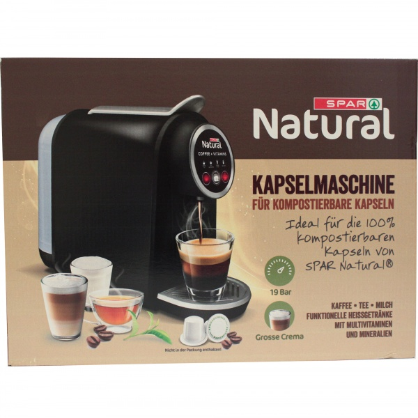 Spar Natural ekspres do kawy tylko na kapsułki Spar Natural