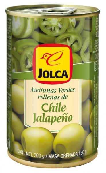 Oliwki Jolca z papryką jalapeno