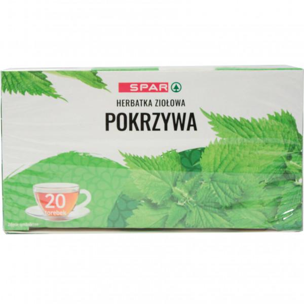 Spar herbatka ziołowa pokrzywa 20tx2g